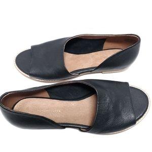 Anthropologie Souvenir Flats-Black Leather-Size 8
